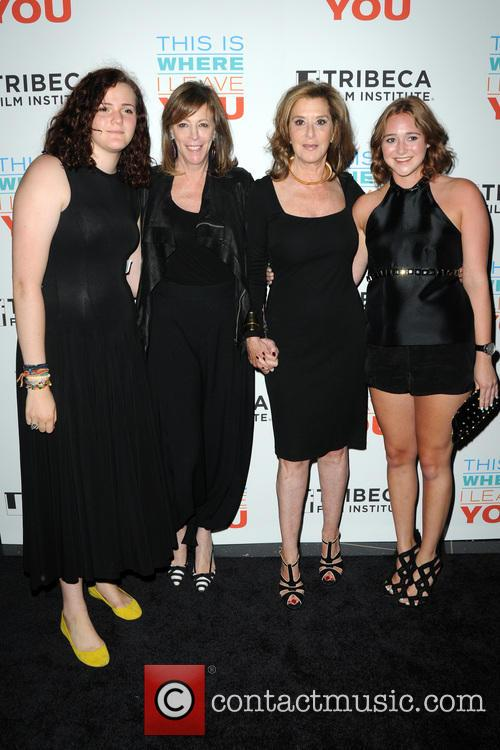 Isabella Hatkoff, Jane Rosenthal, Paula Weinstein and Hannah Rosenberg