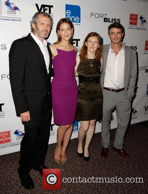 John Sullivan, Michelle Monaghan, Claudia Myers and Adam Silver