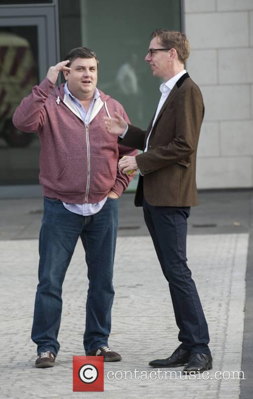 Simon Delaney and Ryan Tubridy