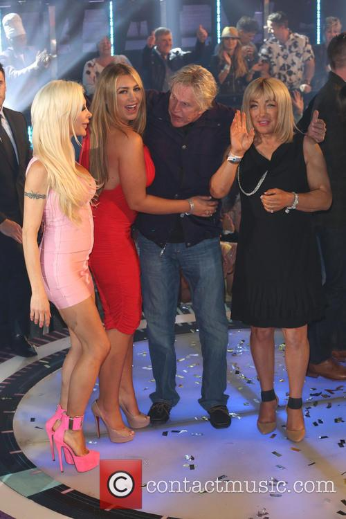 Gary Busey, Lauren Goodger and Kellie Maloney 11