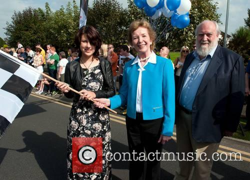 Caoimhe Mcdermot-quinn, Mary Robinson and Nick Robinson