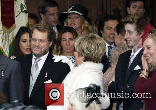 Gloria, Princess Of Thurn, Taxis and Benedikt Von Schoenburg-glauchau 10