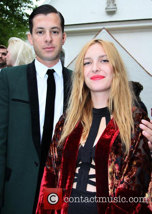 Josephine De La Baumem and Mark Ronson