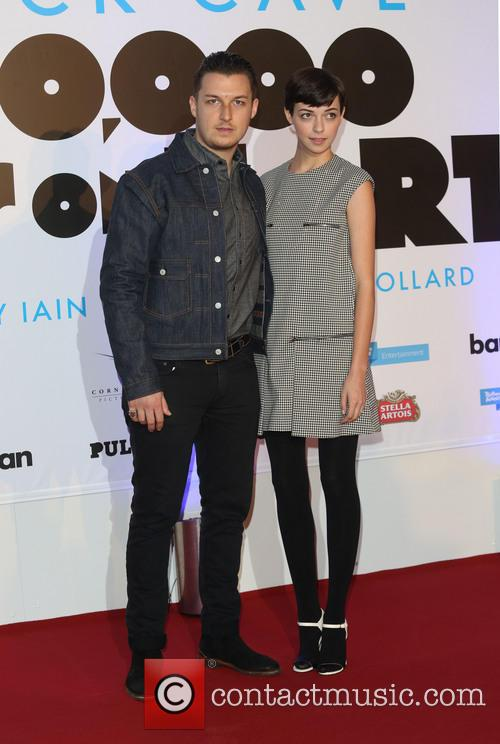 Matt Helders and Girlfriend