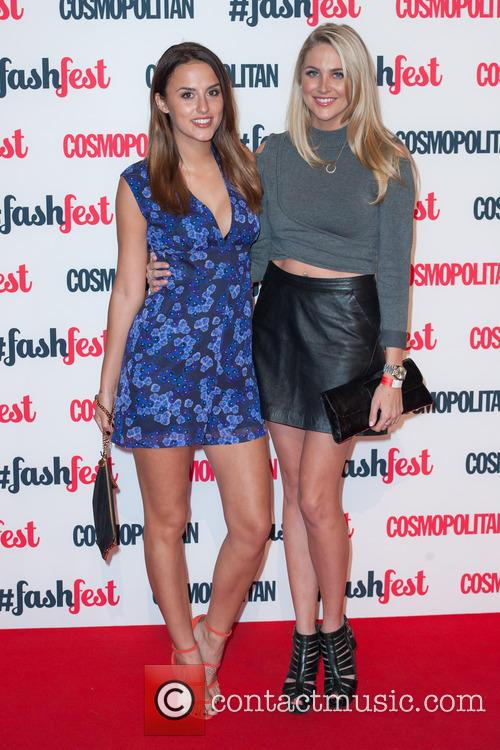 Lucy Watson and Stephanie Pratt