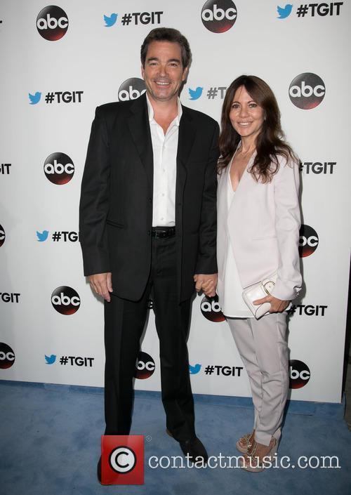 Jon Tenney and Leslie Urdang