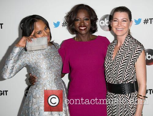 Kerry Washington, Viola Davis and Ellen Pompeo