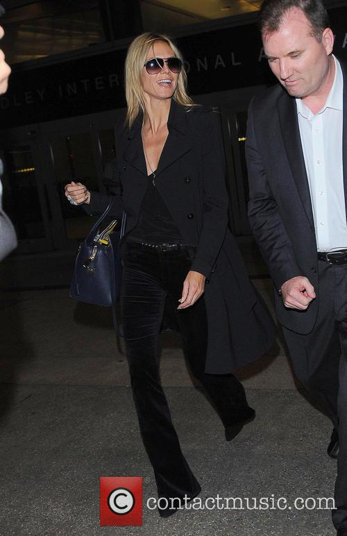 Heidi Klum and Los Angeles International Airport 6