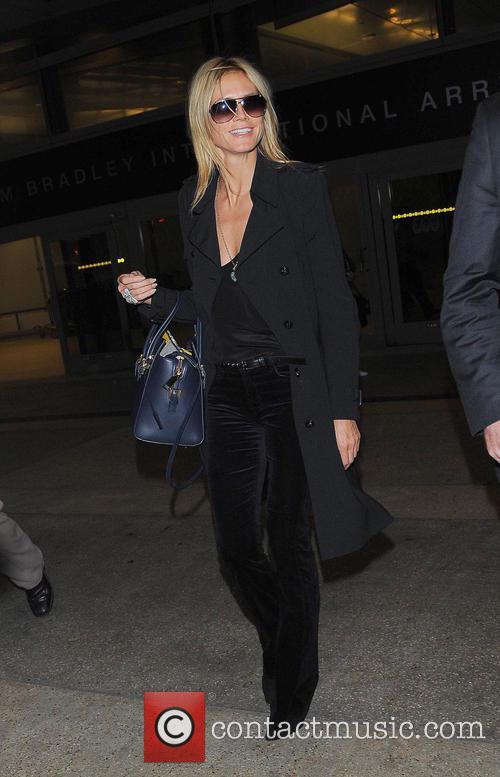 Heidi Klum and Los Angeles International Airport 7