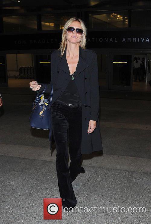 Heidi Klum and Los Angeles International Airport 8
