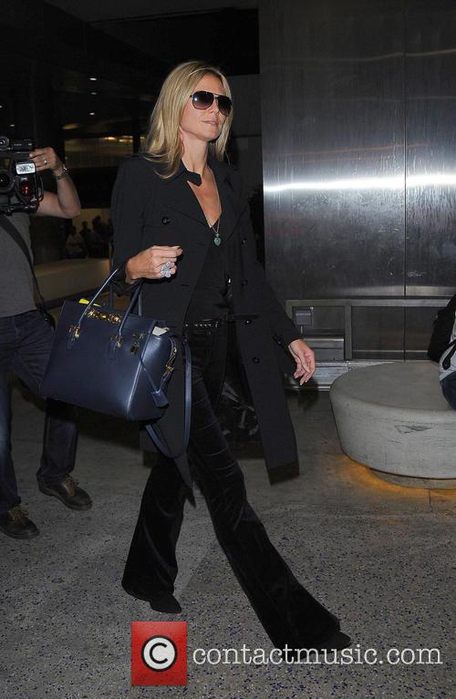 Heidi Klum and Los Angeles International Airport 11