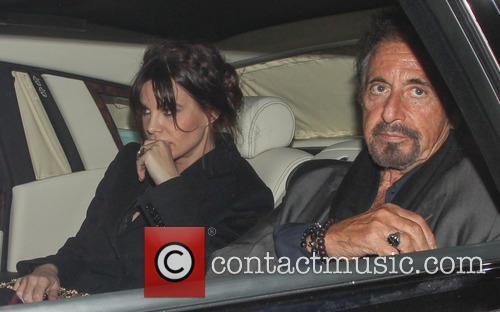 Lucila Sola and Al Pacino