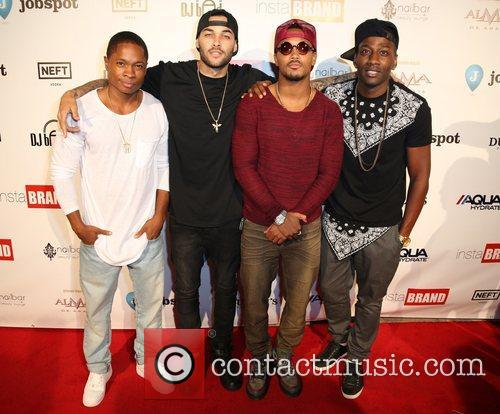 Sam Jones, Don Benjamin, Romeo Miller and Destorm Power