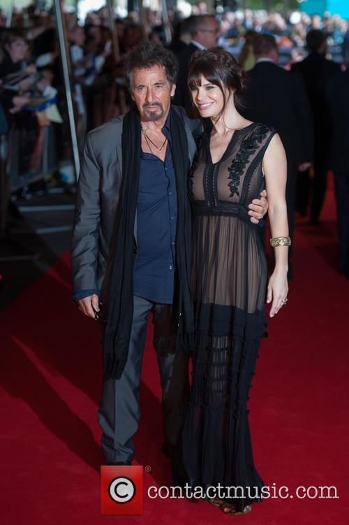Al Pacino and Lucila Polak 8