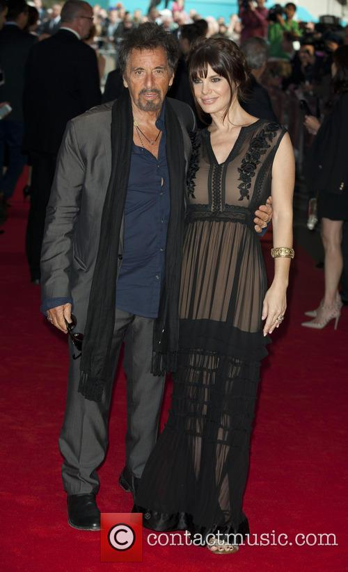 Al Pacino and Lucila Polak