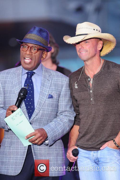 Al Roker and Kenny Chesney