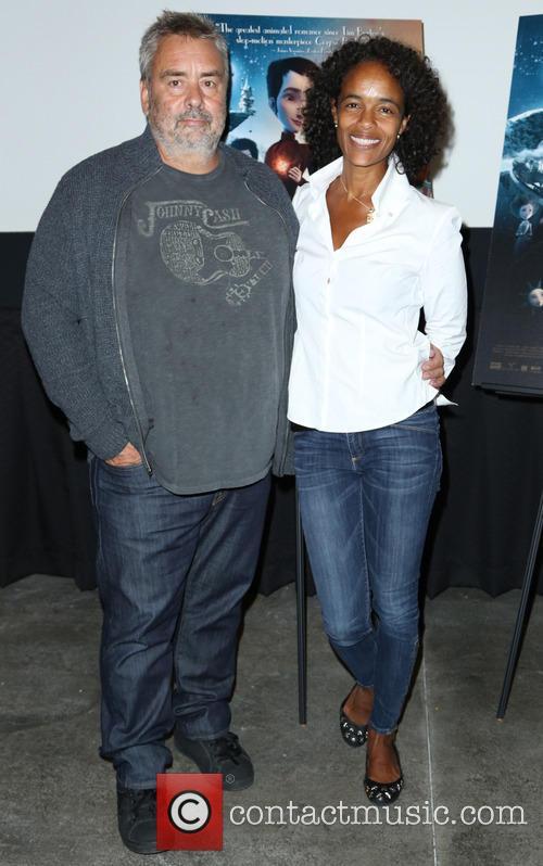 Luc Besson and Virgine Besson Silla
