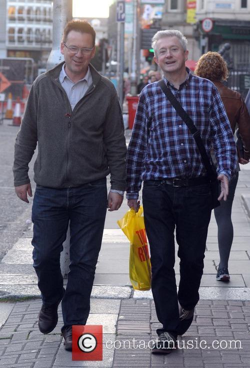 Derek Mooney and Louis Walsh 1