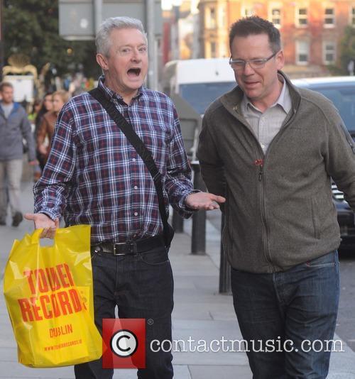 Louis Walsh and Derek Mooney