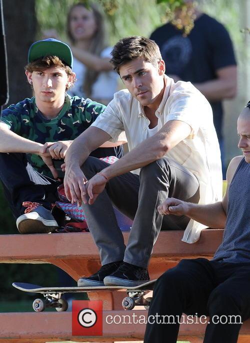 Zac Efron and Alex Shaffer 4