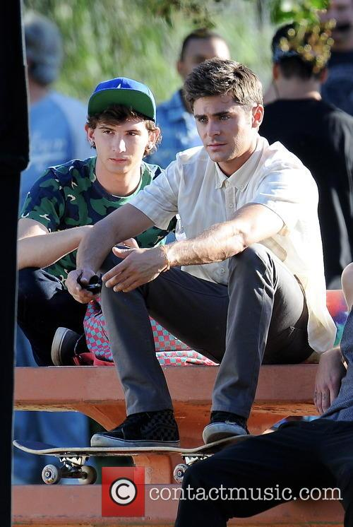 Zac Efron and Alex Shaffer 6
