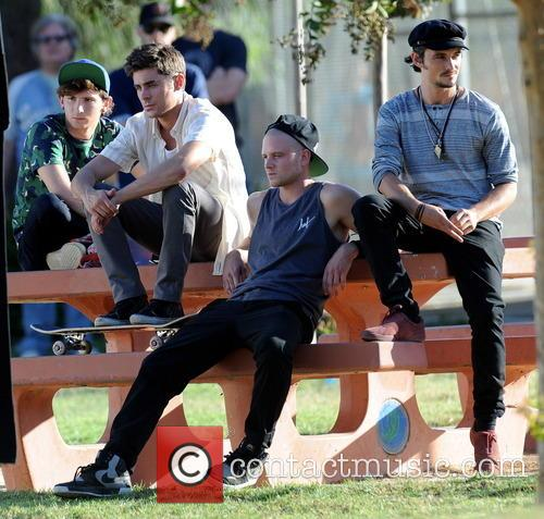 Zac Efron, Shiloh Fernandez, Jonny Weston and Alex Shaffer