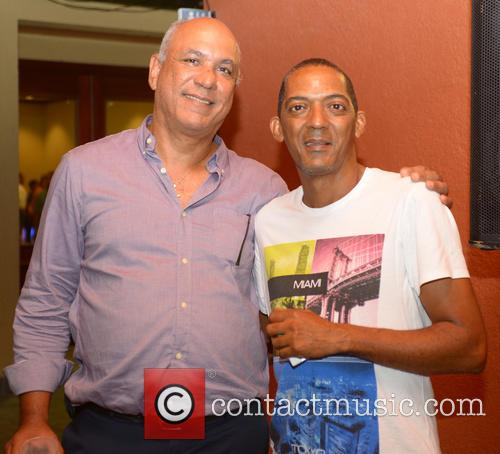 Richard Burton and Harry Diboula