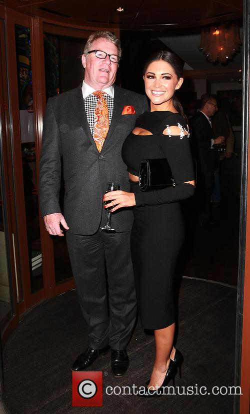 Jim Davidson and Casey Batchelor