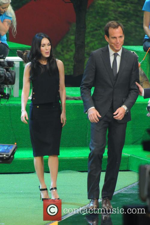 Megan Fox and Will Arnett 9