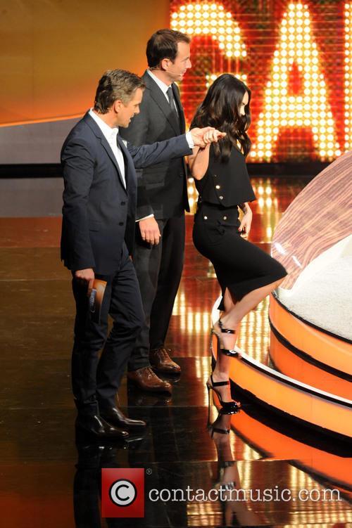 Megan Fox, Will Arnett and Markus Lanz 5