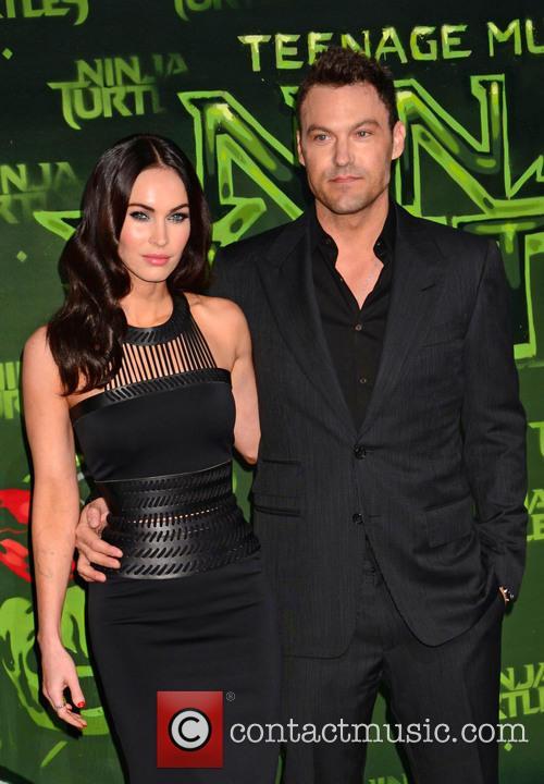 Megan Fox and Husband Brian Austin Green