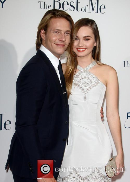 Luke Bracey and Liana Liberato
