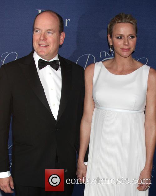 His Serene Highness Prince Albert Ii Of Monaco and Her Serene Highness Princess Charlene Of Monaco 1
