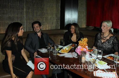 Eva Longoria, Freddy Rodriguez, Elsie Rodriguez and Rebecca King-crews