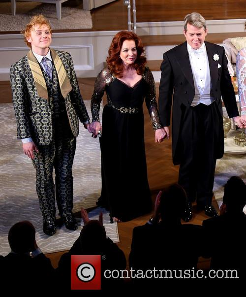 Rupert Grint, Stockard Channing and Matthew Broderick