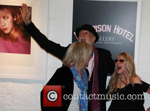Christie Mcvie, Mick Fleetwood and Stevie Nicks