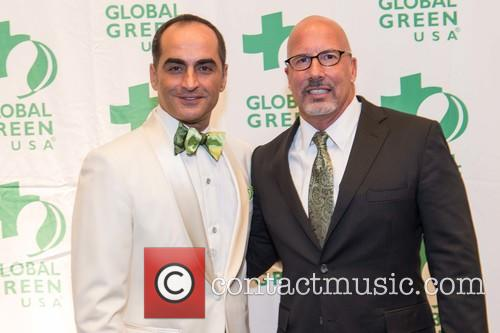 Navid Negahban and Les Mccabe
