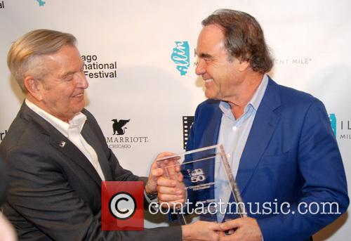 Michael Kutza and Oliver Stone