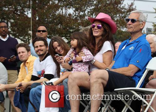 Tyler Ritter, Jason Ritter, Carly Ritter, Maya Juanita Garcetti and Lisa Vanderpump 2