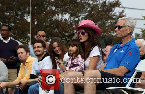 Tyler Ritter, Jason Ritter, Carly Ritter, Maya Juanita Garcetti and Lisa Vanderpump