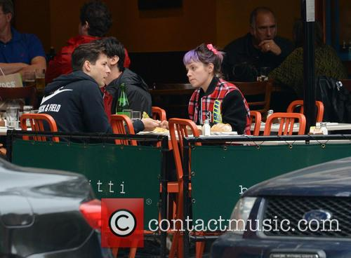 Lily Allen and Mark Ronson