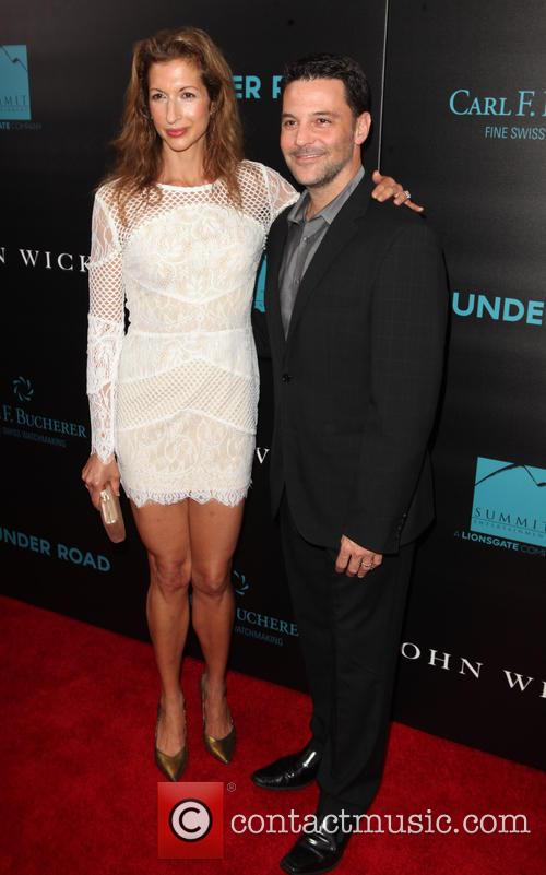 Alysia Reiner and David Alan Basche 7