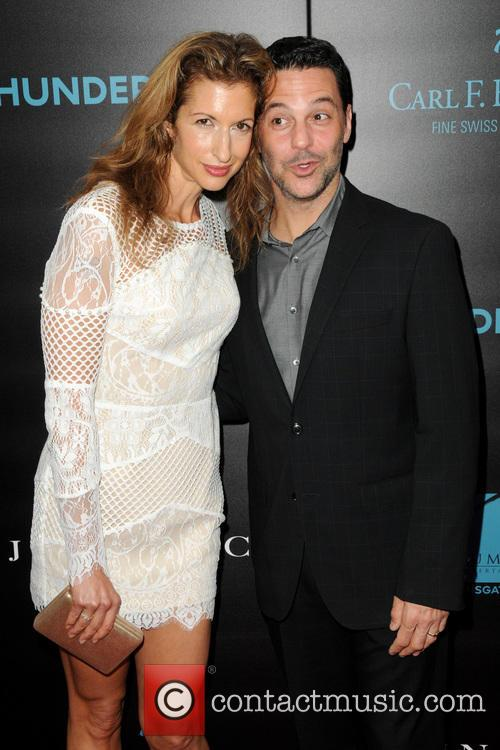 Alysia Reiner and David Alan Basche 3