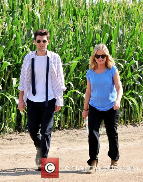 Amy Poehler and Adam Scott 3