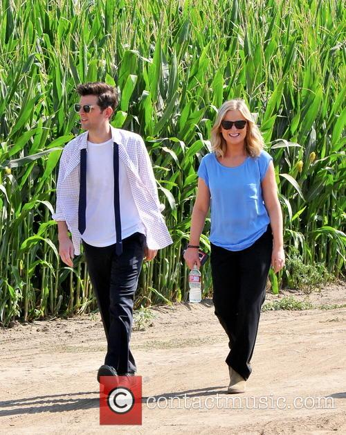 Amy Poehler and Adam Scott 4