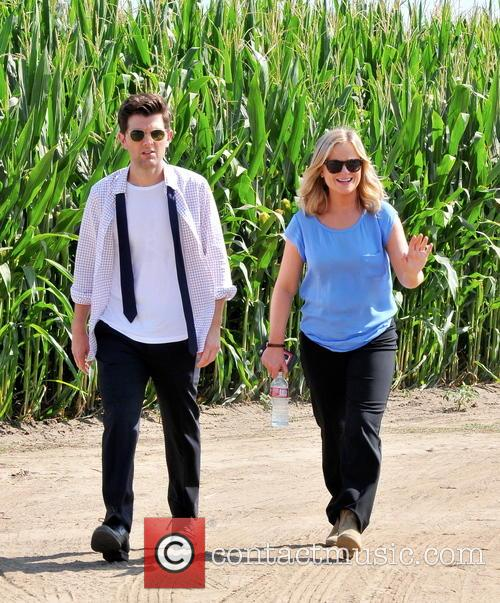 Amy Poehler and Adam Scott 6