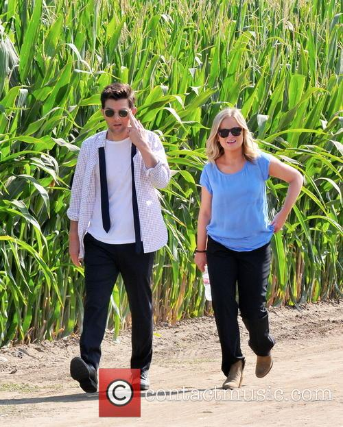 Amy Poehler and Adam Scott 7