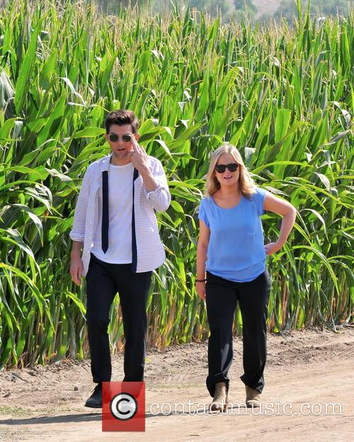 Amy Poehler and Adam Scott 8