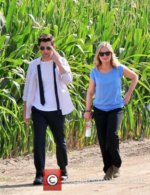 Amy Poehler and Adam Scott 10