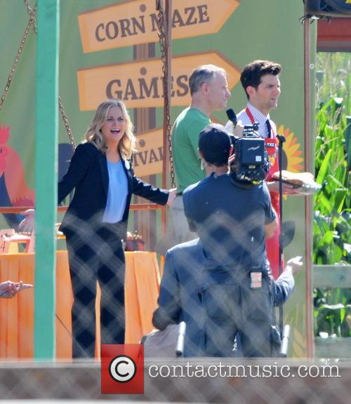 Amy Poehler and Adam Scott 1